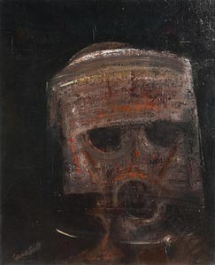 George Campbell, Riot Soldier, Belfast at Morgan O'Driscoll Art Auctions