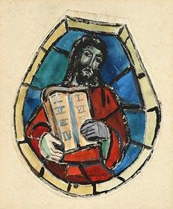 Evie Hone, Ten Commandments at Morgan O'Driscoll Art Auctions