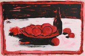 Neil Shawcross, Still Life on Tabletop (1991) at Morgan O'Driscoll Art Auctions