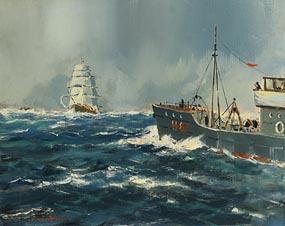 George Gillespie, Steam Meets Sail at Morgan O'Driscoll Art Auctions