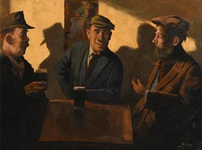 Ted Jones, The Local at Morgan O'Driscoll Art Auctions