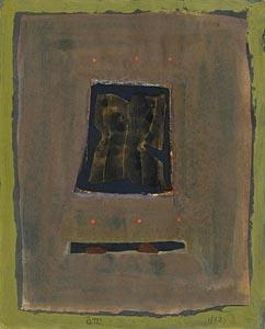 Tony O'Malley, Seal Cottage (1977) at Morgan O'Driscoll Art Auctions