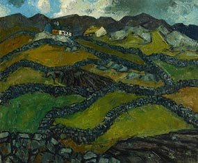 Guus Melai, Farmsteads, West of Ireland (1955) at Morgan O'Driscoll Art Auctions