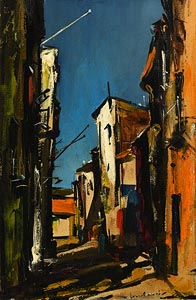 Kenneth Webb, Spanish Lane at Morgan O'Driscoll Art Auctions
