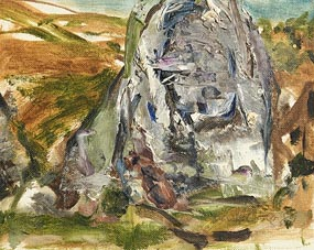 Barrie Cooke, Landscape (1989) at Morgan O'Driscoll Art Auctions