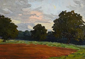 Hans Iten, The Ploughed Field, Belvoir Park at Morgan O'Driscoll Art Auctions