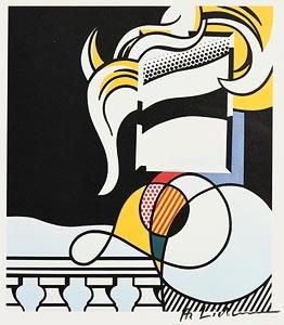 Roy Lichtenstein, Portrait at Morgan O'Driscoll Art Auctions