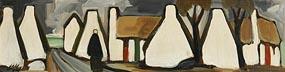 Markey Robinson, Returning to the Village at Morgan O'Driscoll Art Auctions