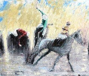 Philip Ryan, The Fall at Morgan O'Driscoll Art Auctions
