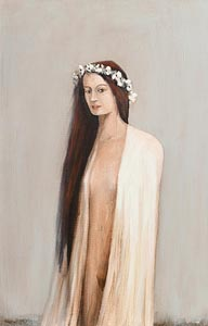 Ian Humphreys, Lady of the Flowers (2003) at Morgan O'Driscoll Art Auctions