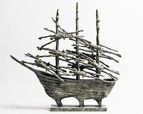 John Behan, Famine Ship at Morgan O'Driscoll Art Auctions
