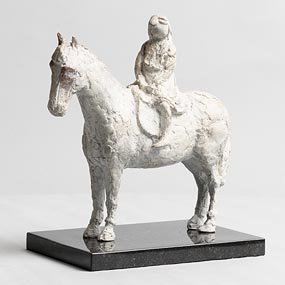 Melanie Le Brocquy, Horse and Rider at Morgan O'Driscoll Art Auctions