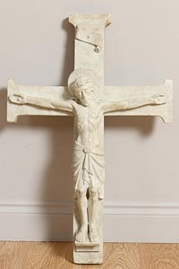 20th Century Irish School, Christ on the Cross at Morgan O'Driscoll Art Auctions