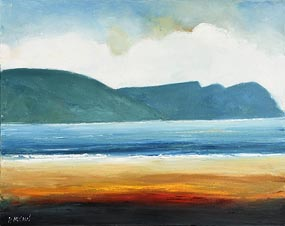 Padraig McCaul, Keel Beach, Achill, Co Mayo (2015) at Morgan O'Driscoll Art Auctions