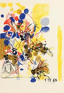 Graham Sutherland, Bees (1963) at Morgan O'Driscoll Art Auctions