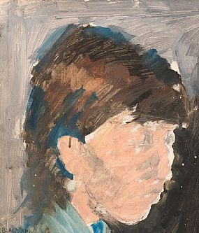 Basil Blackshaw, Portrait of Jude at Morgan O'Driscoll Art Auctions