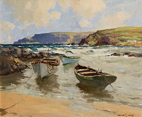 Maurice Canning Wilks, Easterly Wind, Antrim Coast, Cushendun at Morgan O'Driscoll Art Auctions