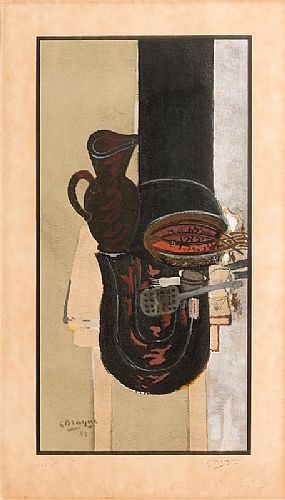 Georges Braque, La Table de Cuisine (1942) at Morgan O'Driscoll Art Auctions