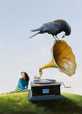 Jimmy Lawlor, The Music Lesson at Morgan O'Driscoll Art Auctions