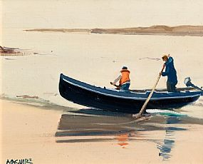 Cecil Maguire, Gorteen, Roundstone at Morgan O'Driscoll Art Auctions