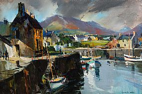 Kenneth Webb, Annalong Harbour, Co.Down at Morgan O'Driscoll Art Auctions