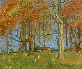 Maurice MacGonigal, Woodland Cottage at Morgan O'Driscoll Art Auctions
