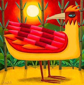 Graham Knuttel, Bird of Paradise at Morgan O'Driscoll Art Auctions
