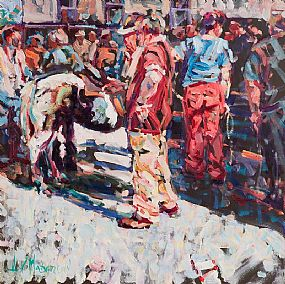 Arthur K. Maderson, Simply Pointing Out, Tallow Horse Fair at Morgan O'Driscoll Art Auctions