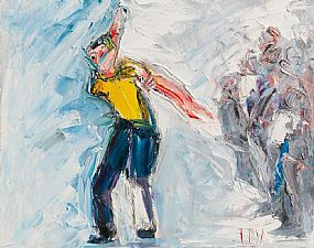 John Brian Vallely, The Bowler at Morgan O'Driscoll Art Auctions