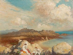 George William Russell, The Bathers at Morgan O'Driscoll Art Auctions