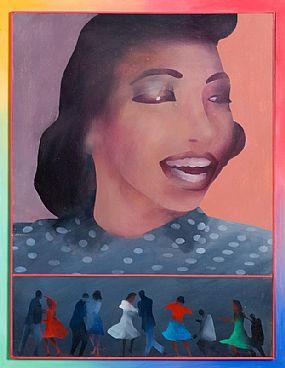 Antony Donaldson, More Polka and Moo Beams (2010) at Morgan O'Driscoll Art Auctions
