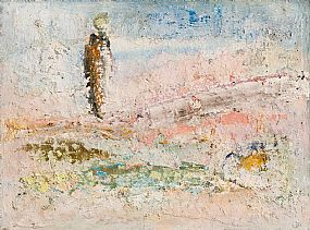 John Kingerlee, Figure in Landscape at Morgan O'Driscoll Art Auctions