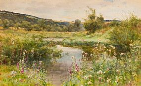 Fanny Wilmot Currey, Meandering Stream at Morgan O'Driscoll Art Auctions