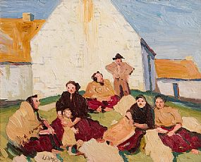 Charles Vincent Lamb, People of the West at Morgan O'Driscoll Art Auctions