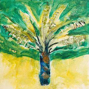 Barrie Cooke, Tree Fern II (1998) at Morgan O'Driscoll Art Auctions