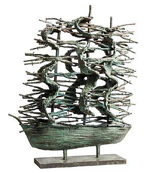 John Behan, Western Famine Ship (2016) at Morgan O'Driscoll Art Auctions