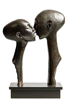 Rowan Gillespie, The Kiss (1985) at Morgan O'Driscoll Art Auctions