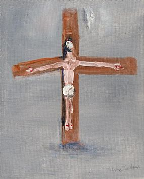 Patrick Collins, Crucifixion (1964) at Morgan O'Driscoll Art Auctions