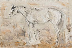 Basil Blackshaw, Grey Chaser at Morgan O'Driscoll Art Auctions