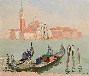 Letitia Marion Hamilton, View of San Giorgio Maggiore, Venice at Morgan O'Driscoll Art Auctions