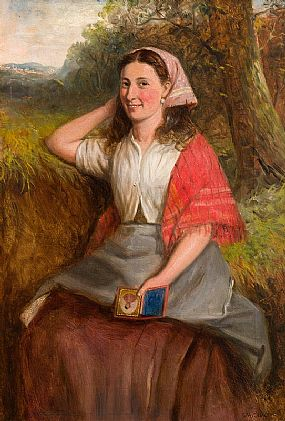 Charles Henry Cook, The Soldier's Sweetheart at Morgan O'Driscoll Art Auctions