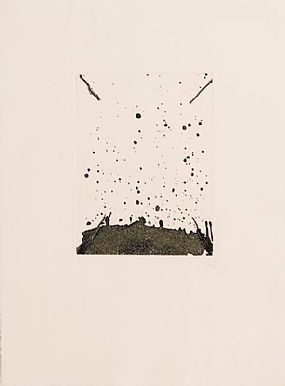 Antoni Tapies, La Clau del Foc at Morgan O'Driscoll Art Auctions