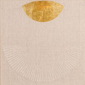Patrick Scott, Gold Painting 4.92 at Morgan O'Driscoll Art Auctions