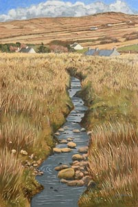 John Kirwan, Meandering Stream at Morgan O'Driscoll Art Auctions