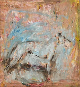 Basil Blackshaw, Hound at Morgan O'Driscoll Art Auctions