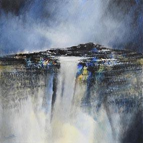 Manus Walsh, Burren Turlough, Showers at Morgan O'Driscoll Art Auctions