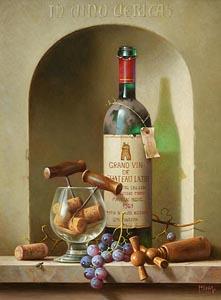 Zoltan Preiner, In Vino Veritas at Morgan O'Driscoll Art Auctions