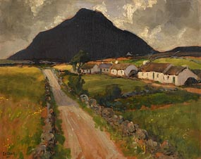 James Humbert Craig, Muckish Mountain, Co. Donegal at Morgan O'Driscoll Art Auctions