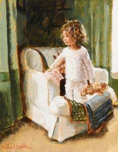 Rowland Davidson, Anticipation at Morgan O'Driscoll Art Auctions
