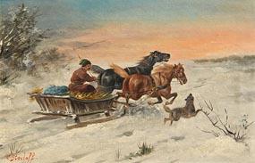 Constantin Stoiloff-Baumgartner, Startled at Morgan O'Driscoll Art Auctions